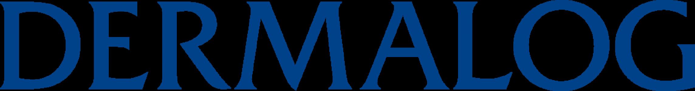 DERMALOG Logo Plain Blue